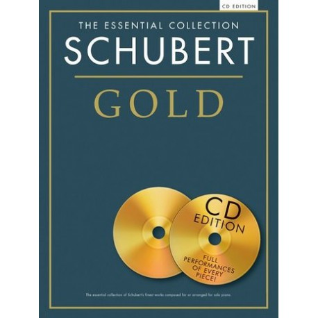 SCHUBERT / ESSENTIAL COLLECTION GOLD + 2 CD PARTITION droite