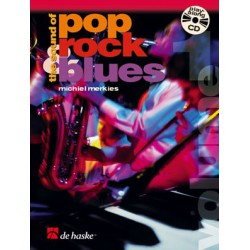MERKIES/ THE SOUND OF POP ROCK BLUES VOL 1 FLUTE PARTITION gauche