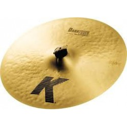 K DARK THIN CRASH 18 ZILDJIAN face