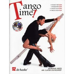 MEES - ROMPAEY / TANGO TIME FLUTE + CD PARTITION
