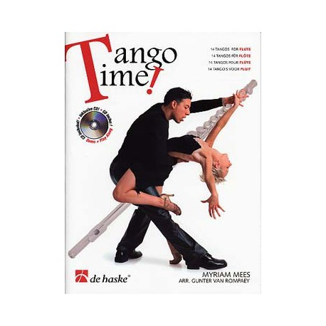 MEES - ROMPAEY / TANGO TIME FLUTE + CD PARTITION dessus