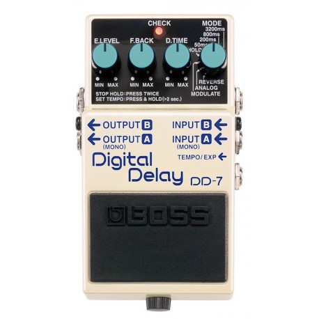 DD-7 EFFET PEDALE DELAY  BOSS face