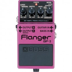 BF-3 EFFET PEDALE FLANGER BOSS droite