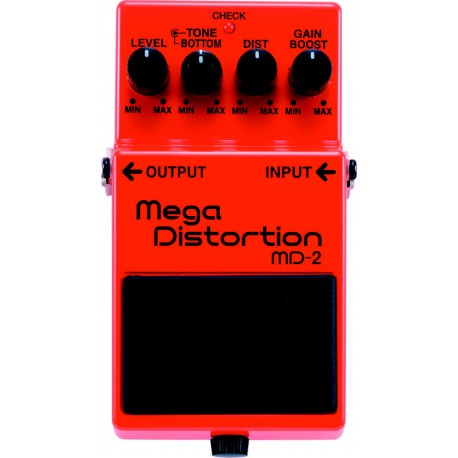 MD-2 EFFET PEDALE MEGA DISTORTION  BOSS arriere