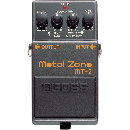 MT-2 EFFET PEDALE METAL ZONE  BOSS cote