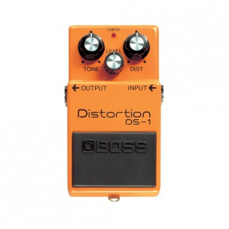 DS-1 EFFET PEDALE DISTORTION  BOSS face