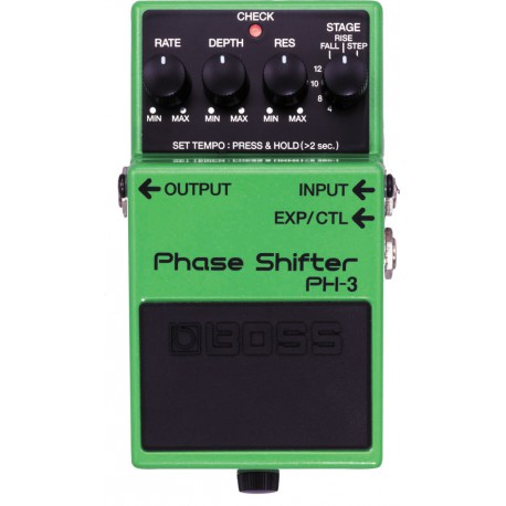 PH-3 EFFET PEDALE PHASER BOSS face