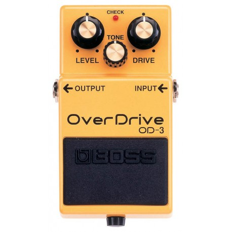 OD-3 EFFET PEDALE OVERDRIVE BOSS face