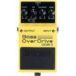 ODB-3 EFFET PEDALE BASSE TURBO OVERDRIVE BOSS arriere