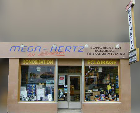 magasin mega-hertz reims