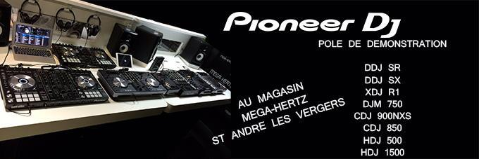 news : Pole de démonstration Pioneer DJ