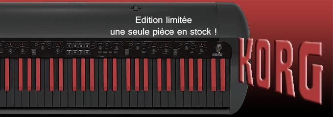 news : SV1-73 EDITION LIMITEE BLACK RED KORG