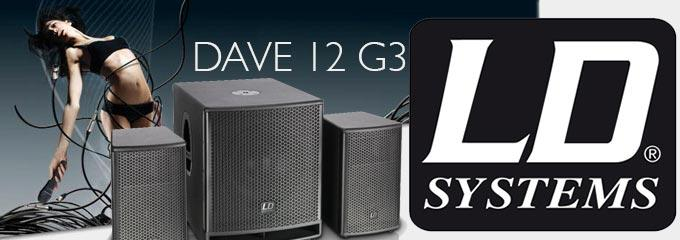 news : DAVE 12 G3 LD SYSTEMS