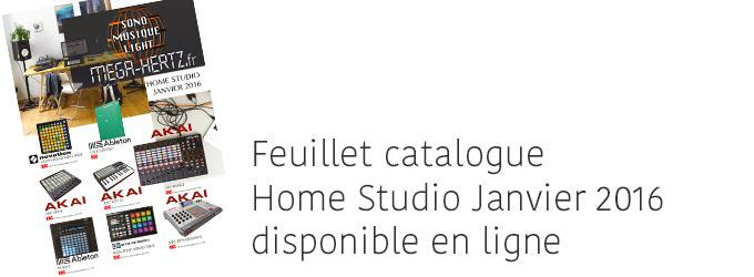 news : Catalogue Home Studio Janvier 2016