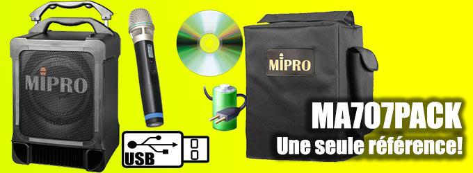 news : MA707PACK MIPRO