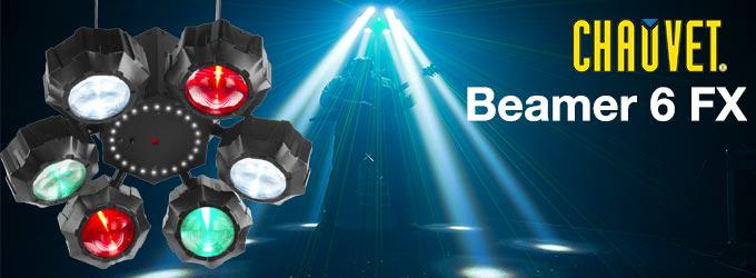 news : BEAMER-6FX CHAUVET