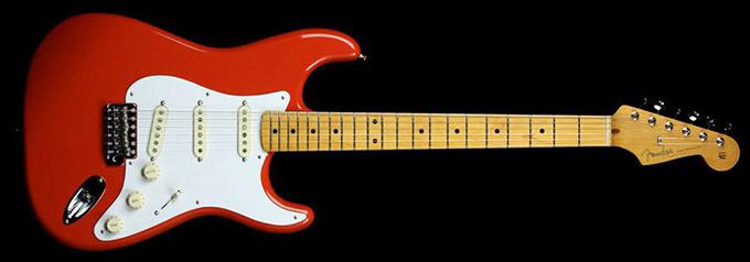 news : Classic Series 50s Stratocaster Fiesta Red FENDER