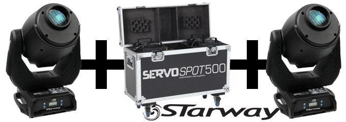 news : 2 SERVO SPOT 500 ET FLIGHT STARWAY