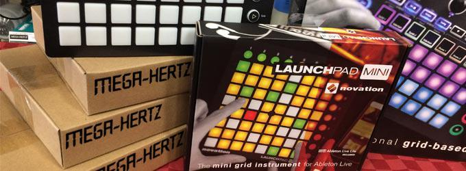 news : LAUNCHPAD MINI MK2 NOVATION