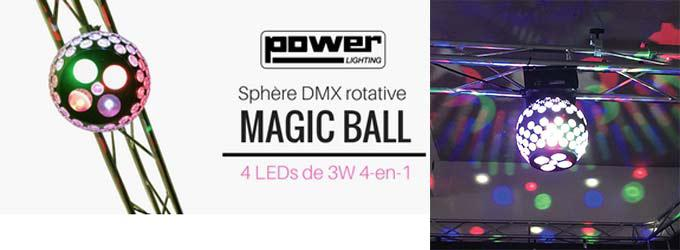 news : MAGIC BALL POWER