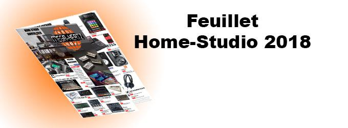 news : Feuillet Home Studio 2018