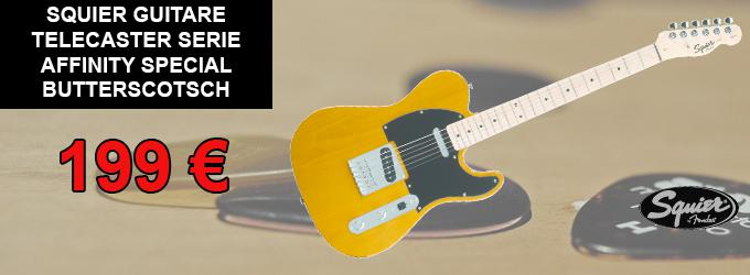 news : Affinity Series Telecaster, Maple Fingerboard, But