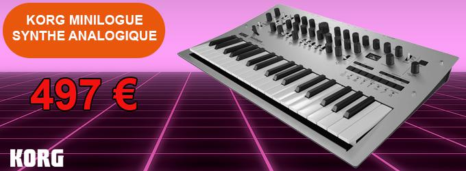 news : MINILOGUE KORG