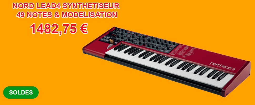NORD LEAD4 SYNTHETISEUR 49 NOTES